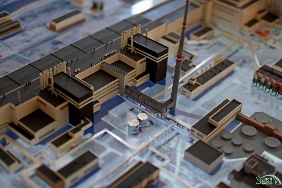работы макет чернобыльской аэс чертеж картинка просторов